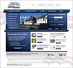 American Gateway Bank - Initial marketing site re-design